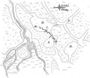 Karta över Uulzvar